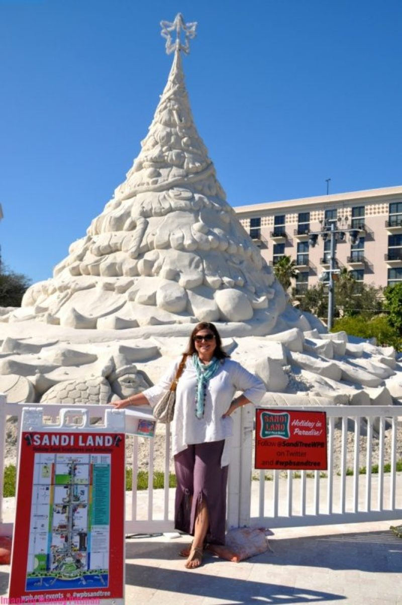 melody pittman at sand castle competition