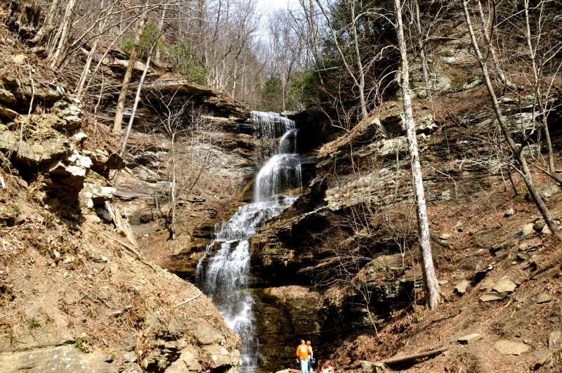 waterfall route 60 west virginia