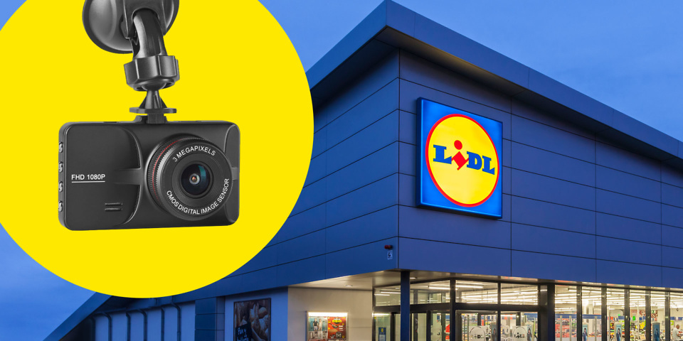 Lidl launches cheap     40 dash cam     Which  News Lidl dash cam