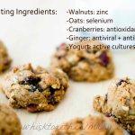 Flu Fighter Cookies