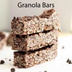Chocolate Chip Peanut Butter Granola Bars