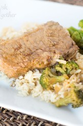 Asian Style Pork Chops and Broccoli2