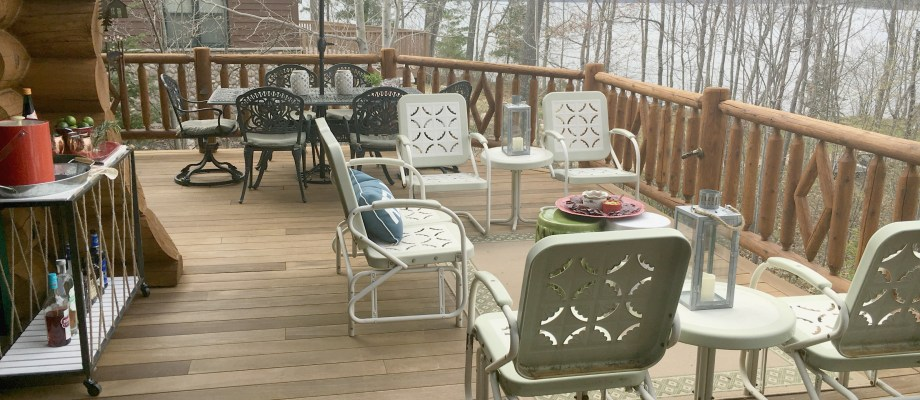 Entertaining on the Deck