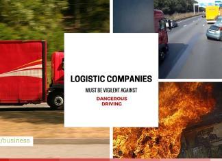 Logistic Companies Must Be Vigilent Against Dangerous Driving