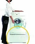Raise-washing-machine