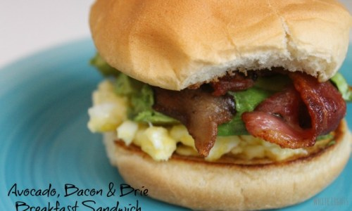 Avocado, Bacon & Brie Breakfast Sandwich 2.1