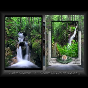 #2008 Cascading Brook Notecard