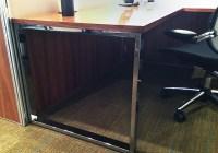 01- Crome Desk -  Loop Side