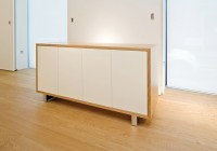 05- Credenzas - Corsair Foot - Mitred with Contrast White Doors