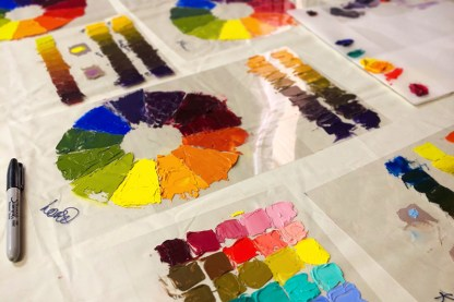 Discovering Color: 5-Day Painting Workshop, 2020 (TBD)