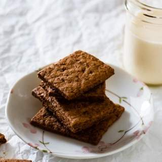 Homemade Cinnamon Whole Wheat Graham Crackers