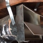 A duct-fed Whole House Fan keeps the noise away from the living space (QuietCool System)