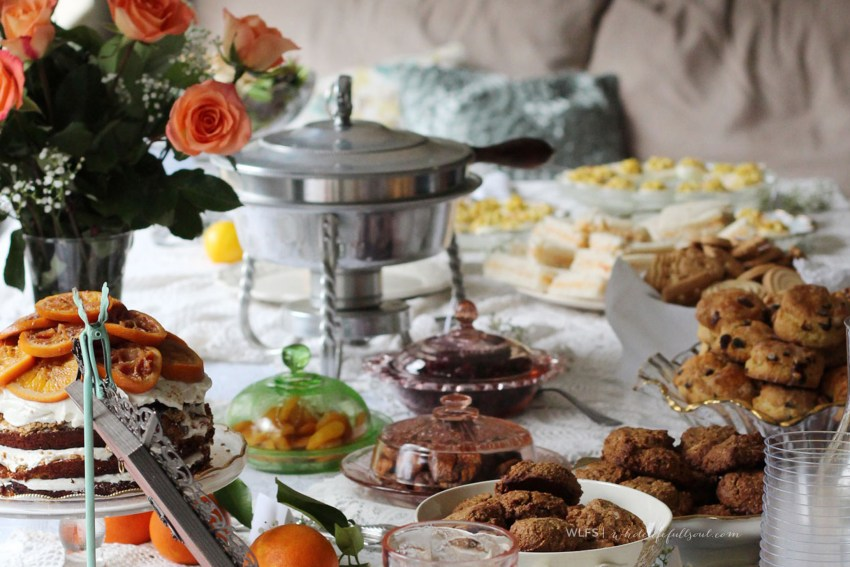 Downton Abbey Themed Bridal Shower