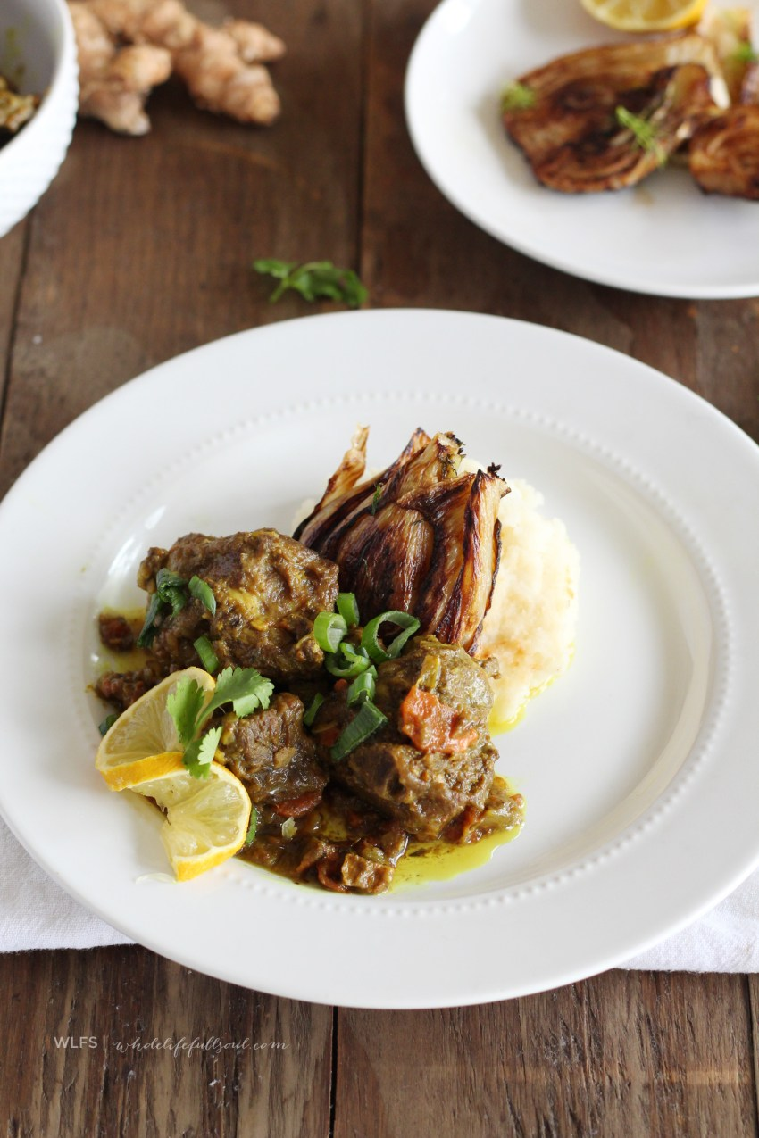 Moroccan Lamb with Caramelized Fennel