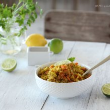 Cauliflower & Leek Turmeric Fried Rice