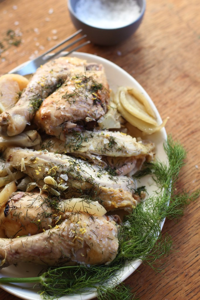 Slow Cooker Fennel & Lemon Chicken