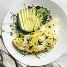 Lemon Herb Omelette