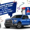 Win a 2016 Ford F-150 XLT
