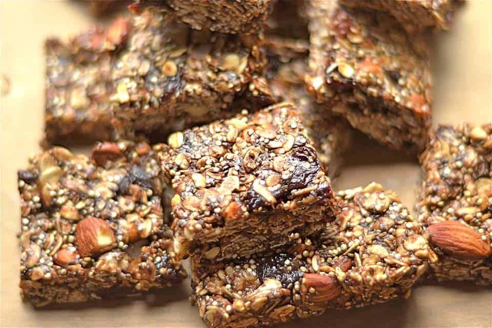 Cherry Chocolate Almond Bar Recipe — Dishmaps