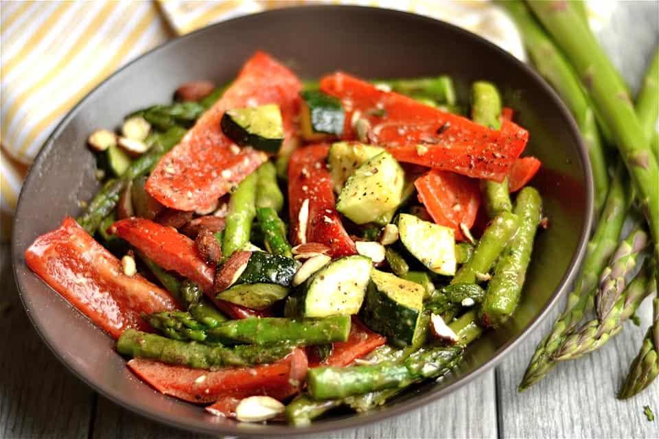 Maple Dijon Roasted Vegetables 3