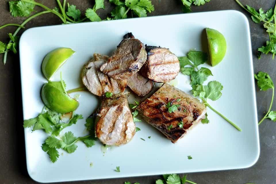 Cilantro Lime Grilled Pork Tenderloin 3