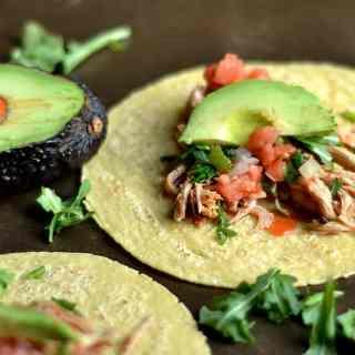 Slow Cooker Honey Buffalo Chicken Tacos