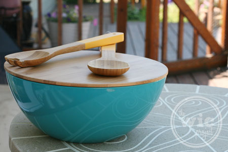 Serving Bowl with Bamboo Lid at Target
