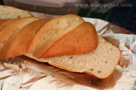 Halved French Bread
