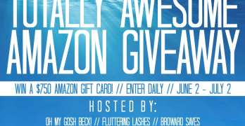 Win a $750 Amazon GC – Totally Awesome Amazon Giveaway