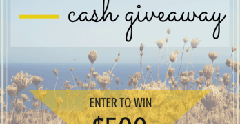 $500 Sweet September Cash Giveaway