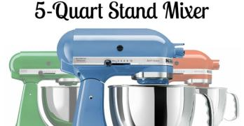KitchenAid Artisan 5-Quart Stand Mixer Giveaway