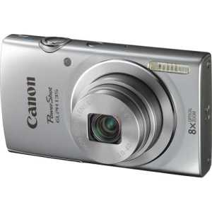 Canon - PowerShot ELPH-135 16.0-Megapixel Digital Camera - Silver