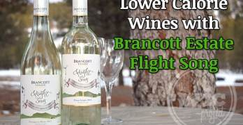 Lower Calorie Wines with Brancott Estate Flight Song #IC #FlightSongResolutions #ad