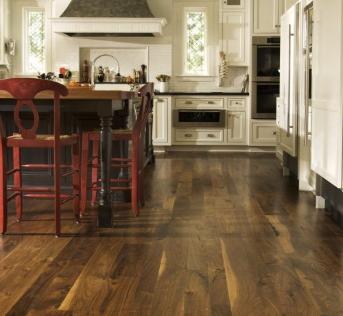 Medium Of Dark Wood Flooring