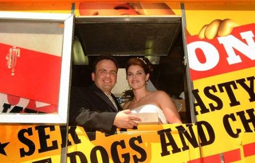 Wienerschnitzel Wiener Wagon Couple