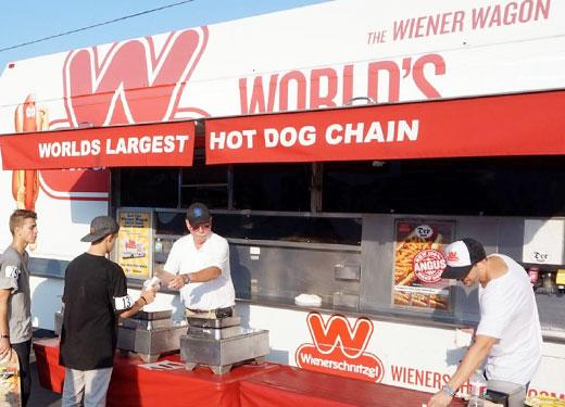 Wienerschnitzel Wiener Wagon Event