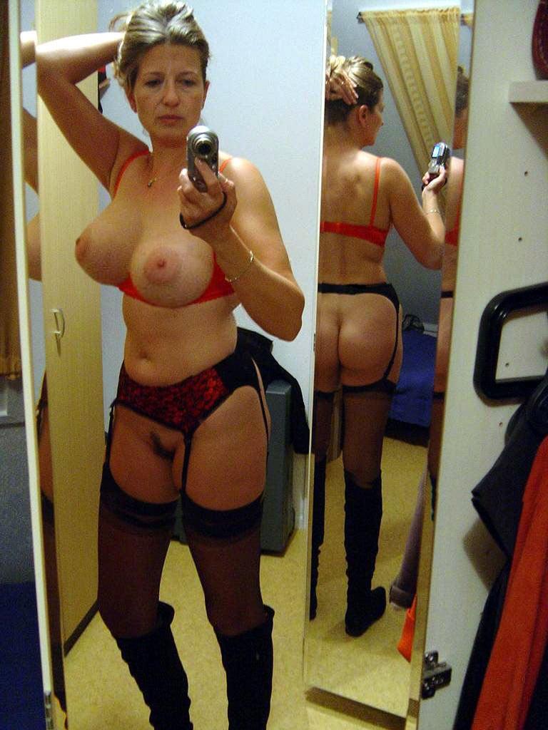 hot mature selfies