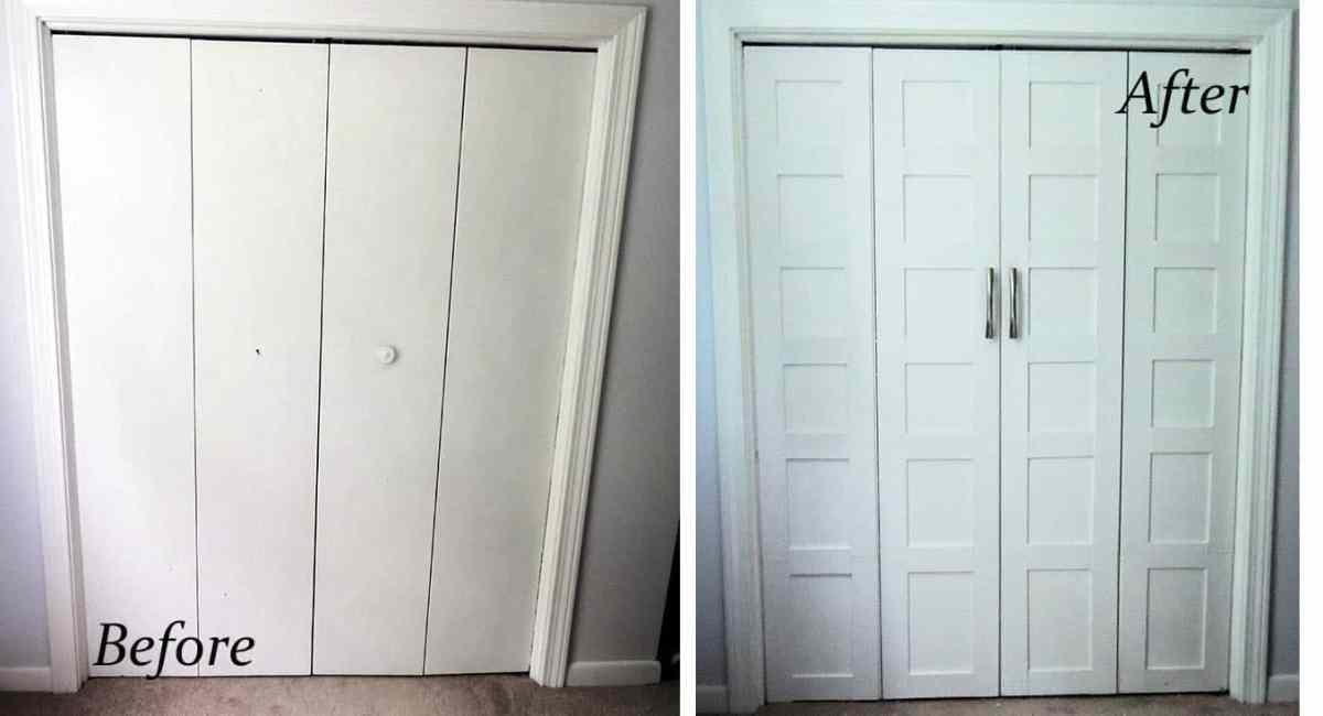 Master Bedroom Closet Face Lift