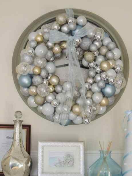 finished wreath closeup