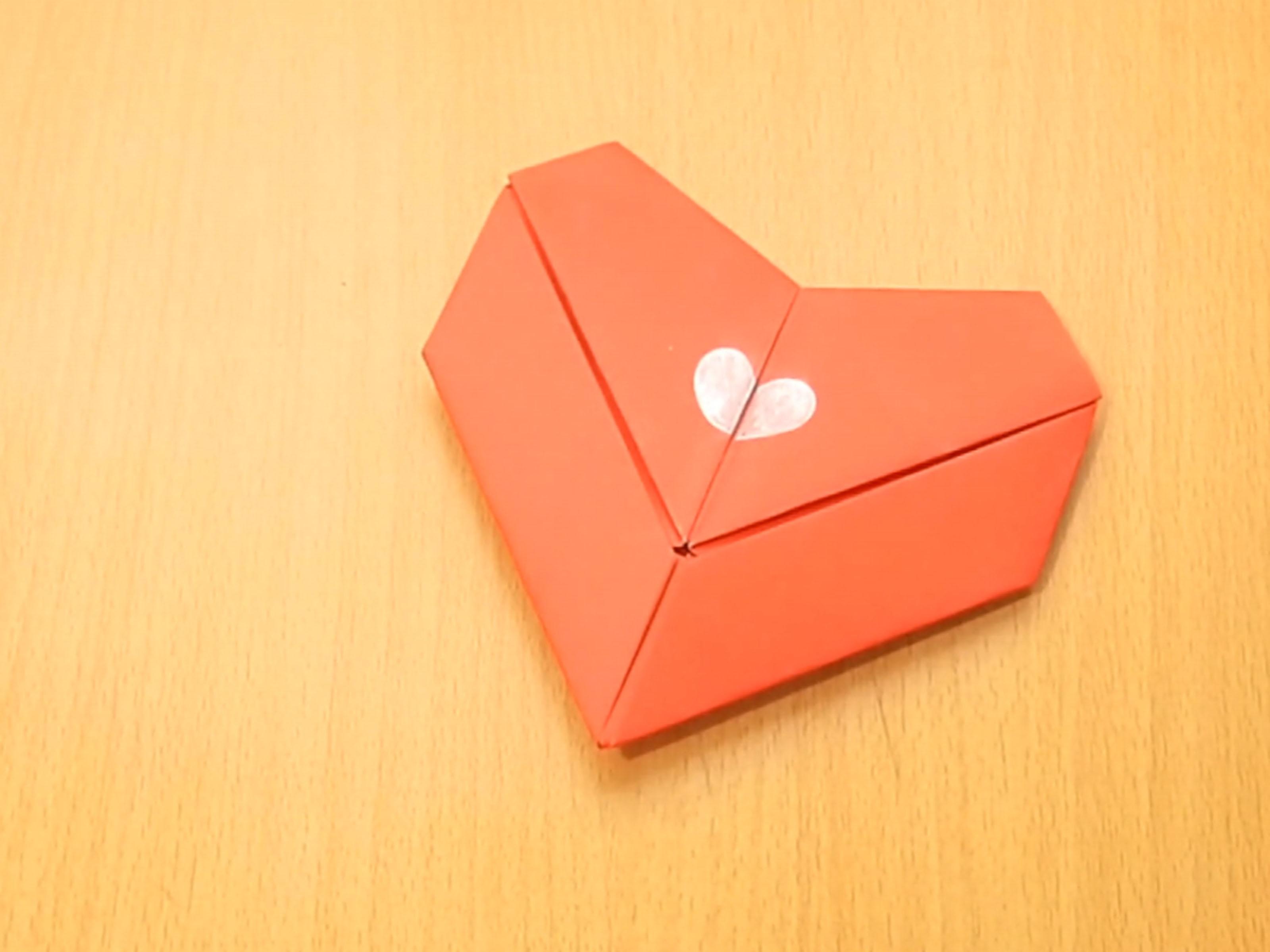 Fantastic Make An Origami Heart Step 15 Version 3 How To Make A Heart Shaped Cake How To Make A Heart Paper art How To Make A Heart