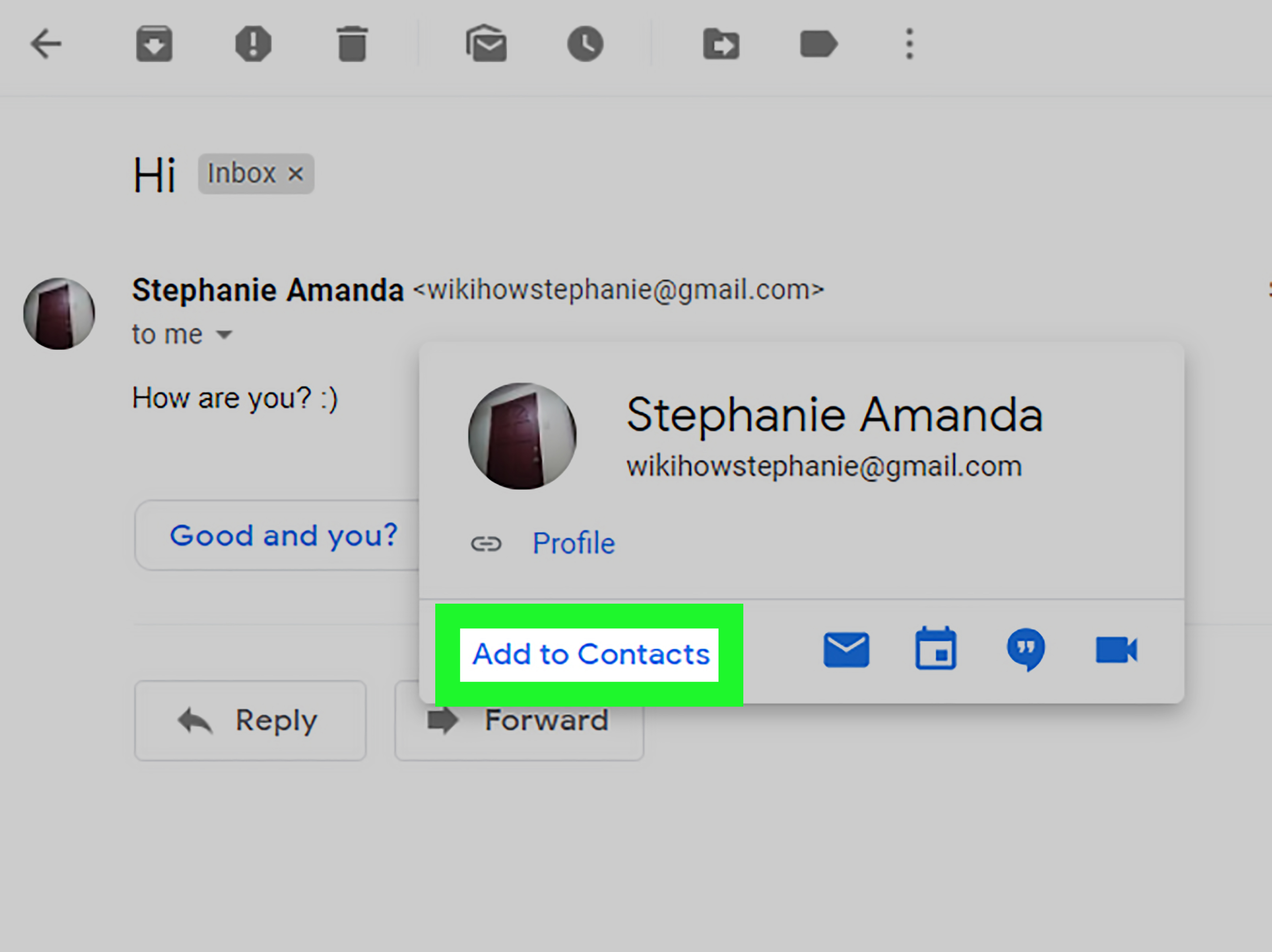 How to Add Contacts in Gmail  12 Steps  with Pictures    wikiHow