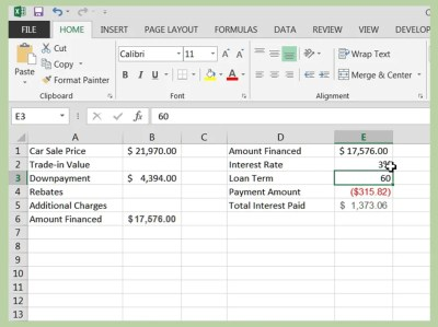 How to Calculate a Car Loan in Excel: 10 Steps (with Pictures)