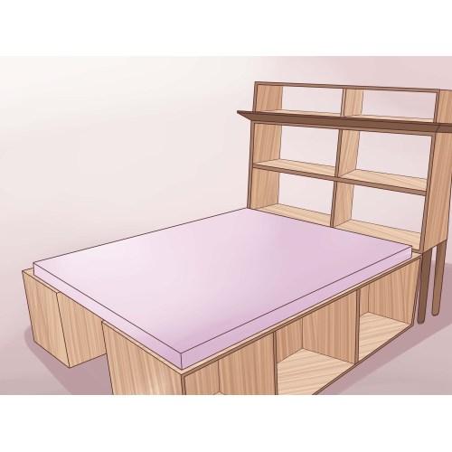 Medium Crop Of Queen Bed Frame Wood