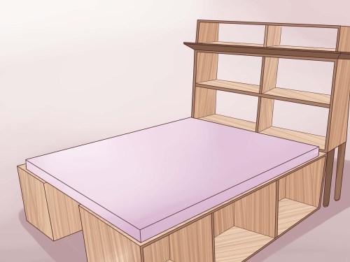 Medium Of Queen Bed Frame Wood