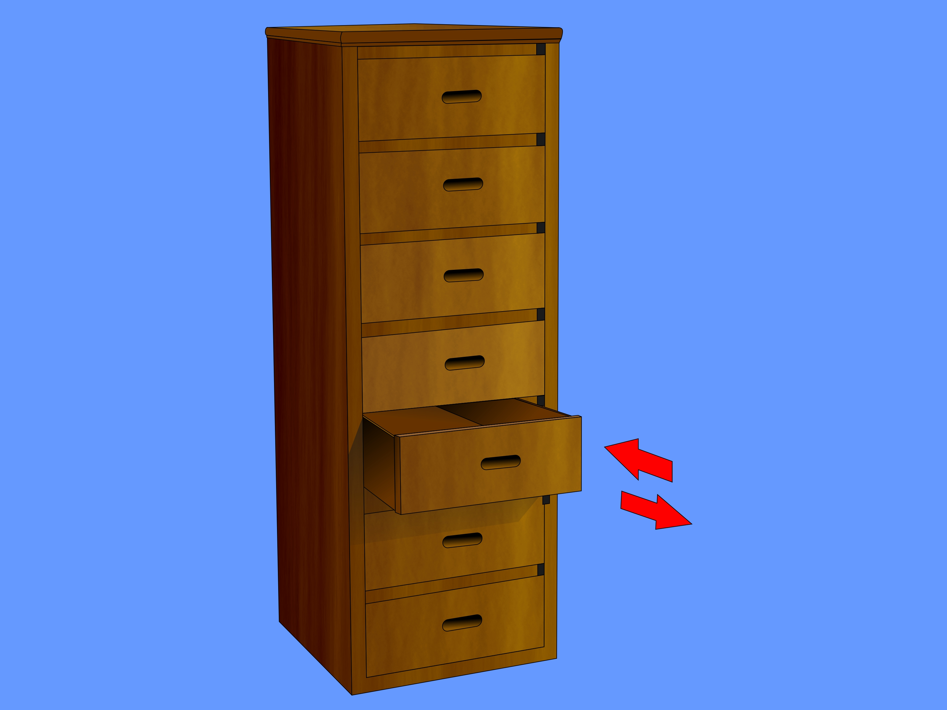 Corner Build A Tall Drawer Chest Step 8 Version 2 Tall Chest Drawers Plans Living Room Tall Chest Drawers houzz-03 Tall Chest Of Drawers
