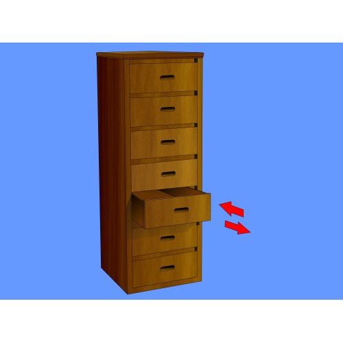 Medium Crop Of Tall Chest Of Drawers