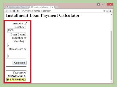 3 Ways to Calculate an Installment Loan Payment - wikiHow
