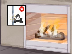 Small Of How To Clean Fireplace Glass