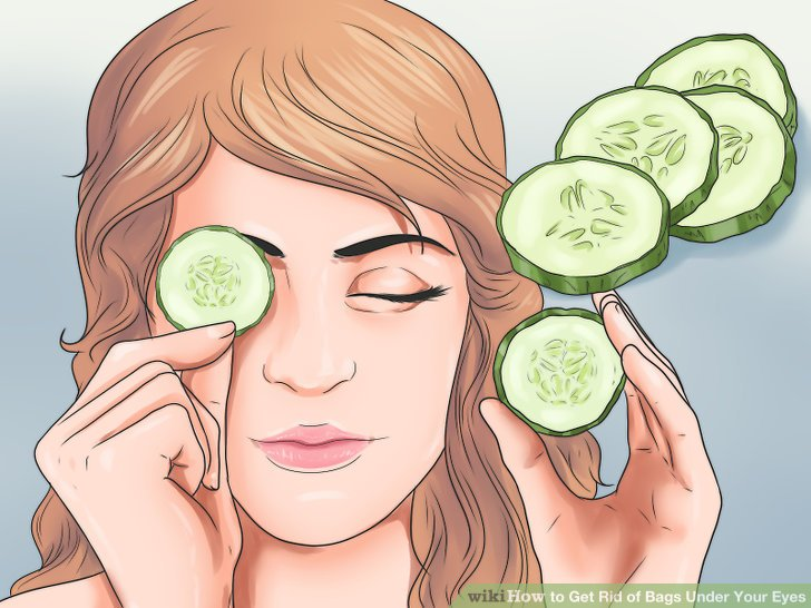 Image Titled Get Rid Of Bags Under Your Eyes Step 2