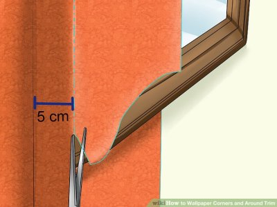 How to Wallpaper Corners and Around Trim: 11 Steps (with ...